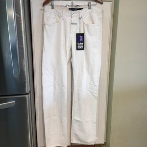 Marithe Francois Girbaud White Jeans
